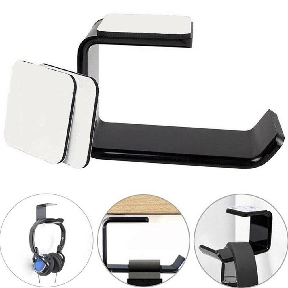 New Headphone Holder Hanger Wall PC Monitor Stand Durable Headphone Accessories Headset Hanger PC Monitor Holder Stand Dropshipp