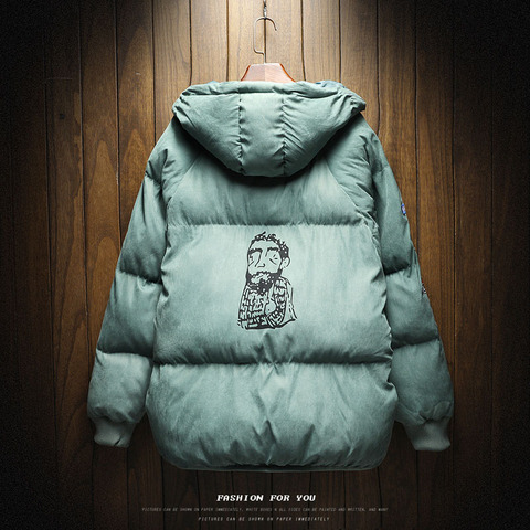 New Winter Warm Downs Jacket Men cotton liner Outwear Thick Snow Parkas Hooded Coat Male Casual Thermal Windproof Downs Jacket Islamabad