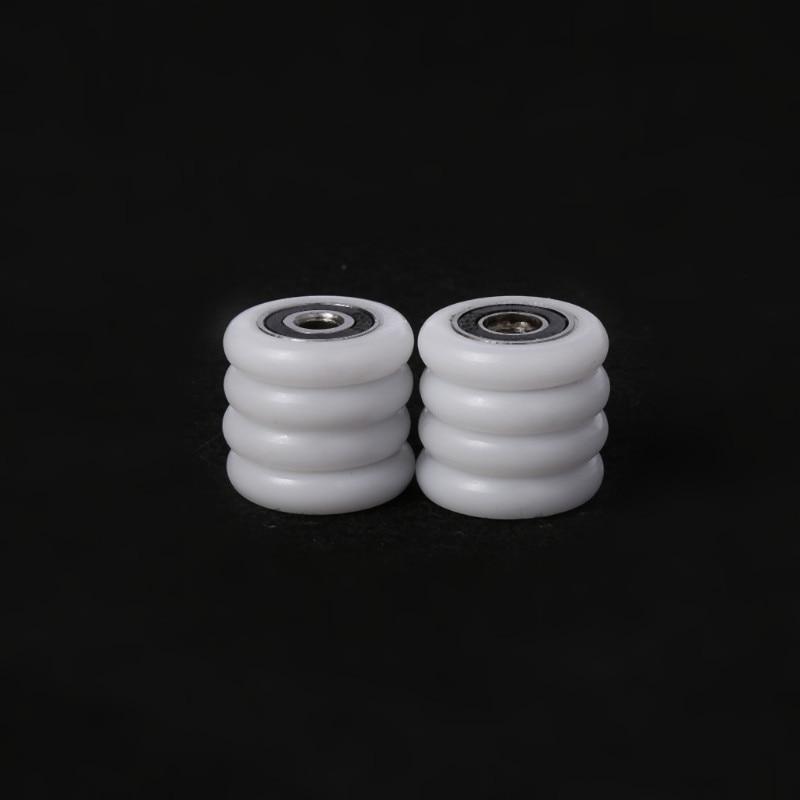 8 Pcs Bath cabinet roller wheel shower room accessories bearing roller wheel 23/25/27mm  Drop Ship-1