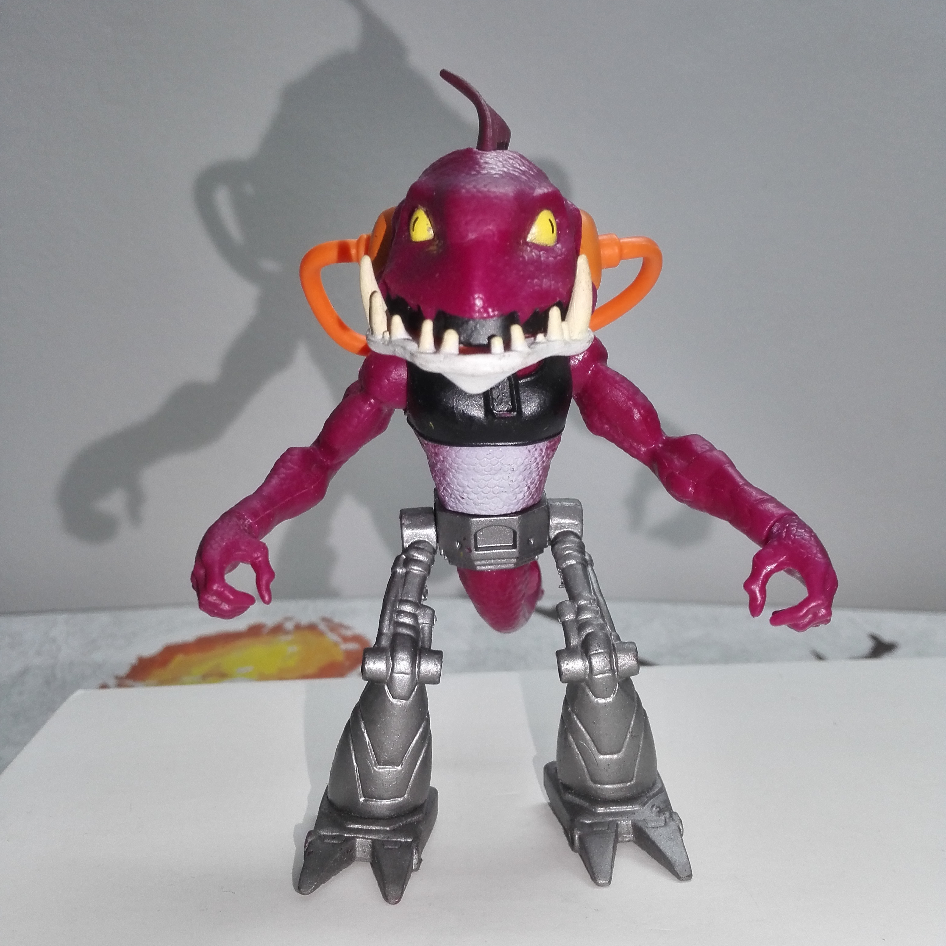 Shredder Turtle Figures America Cartoon Actions Tortue Toys Mutant Animal Tortugas Tiger Claw Foot Clan Stockman