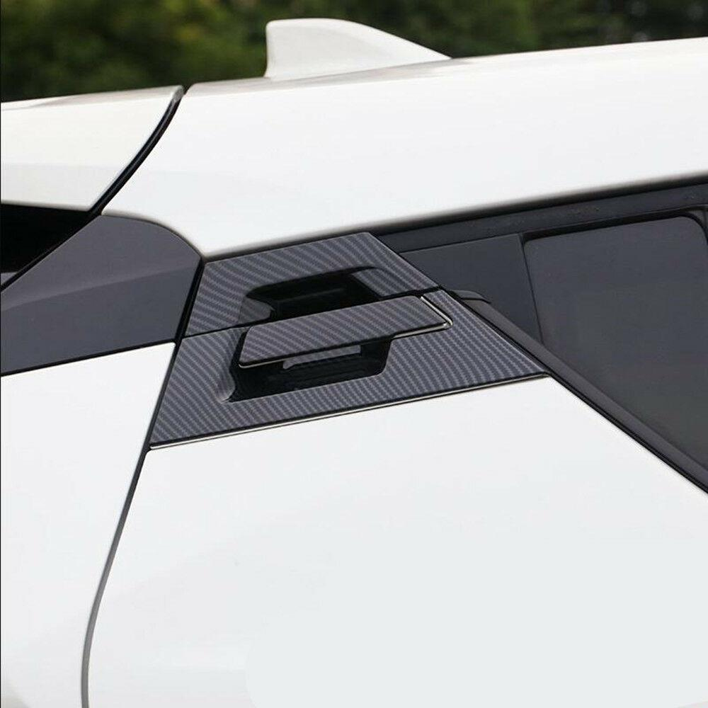 Rear Back Door Handle Handles Bowl Cover Trim For Toyota C-HR CHR 2016 2017 2018