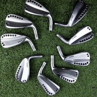 0311P golf clubs gen2 silver golf iron set 7pcs 56789WG steel shaft and graphite shaft golf clubs with rod cover