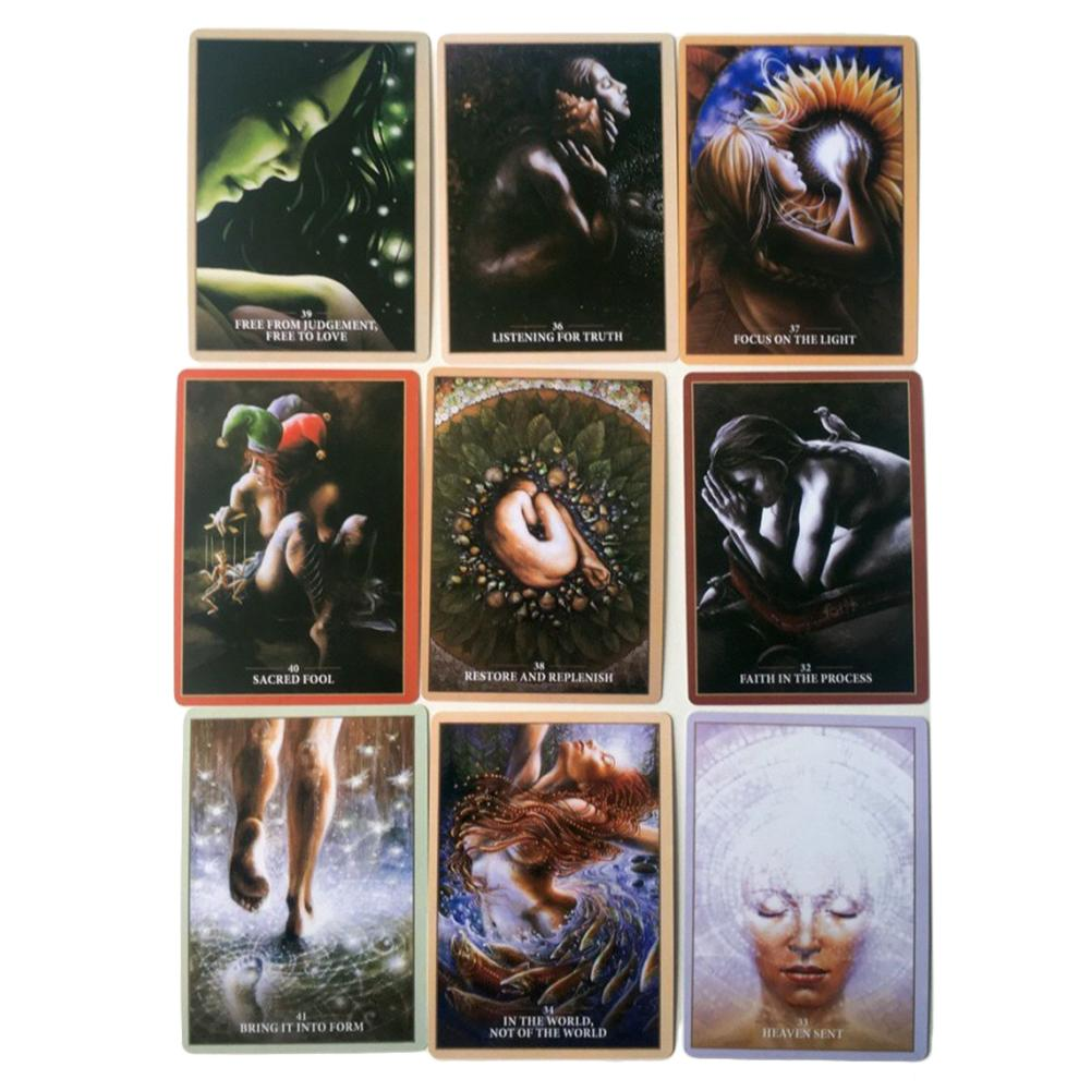 45pcs Sacred Rebel Tarot Cards Deck Board Game Playing Card Table Game For Party Entertainment