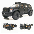 Новинка 1/32 г. Паттон внедорожник Грузовик литья под давлением модель автомобиля игрушка джип для детей звук освещения отступить подарки, бе...