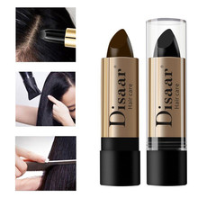 Hair Color Pen Hair Stick Lasting Fast Temporary Hair Dye To Cover White 10g Hair Dye Lipstick Shape Hairline Coloring Tool