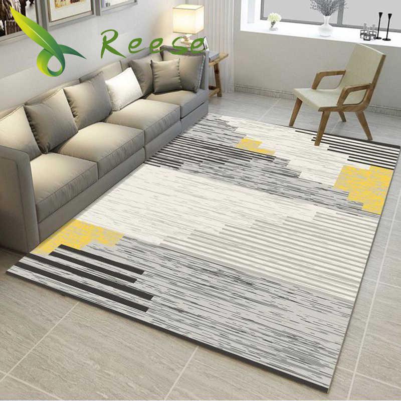 거실 인쇄에 대 한 카펫 깔개 3D 기하학적 나무 바닥 깔개 침실 응접실 공장 공급에 대 한 비 슬립 방오 카펫