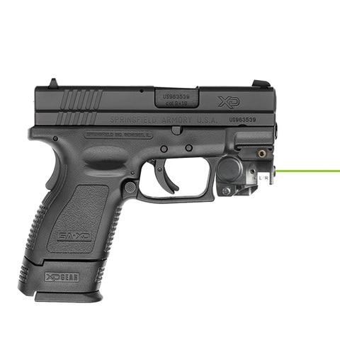 arma compacta ponteiro laser para walther p22 w e ajustavel verde vermelho ir railed laser