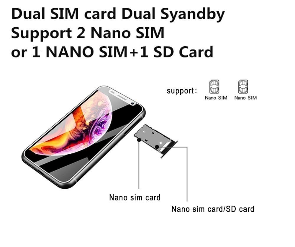 Support Google Play 3.4 inch small mini 4G Smartphone Android 8.1 fingerprint Dual SIM Quad Core Unlock cellphone Melrose 2019