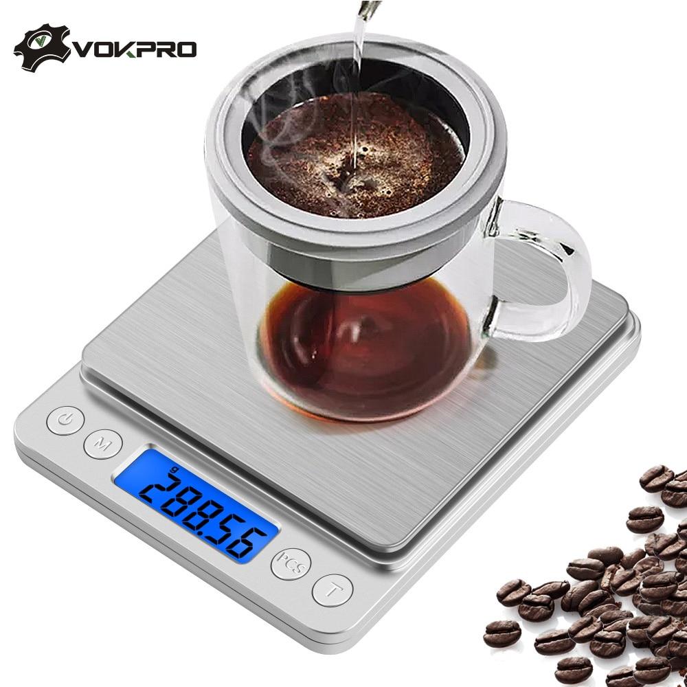 3 шт., электронные мини-весы для ювелирных изделий, 1 кг/2 кг/3 кг/500 г, 0,1/0,01 г