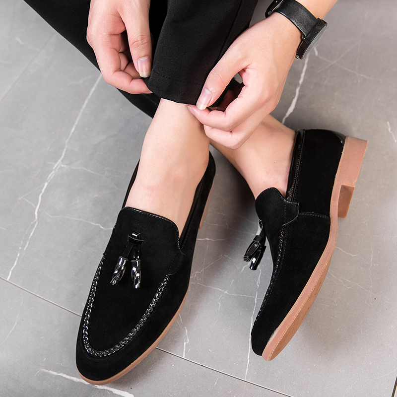 H24159f6b623a4f5892a0e46b325d7179i Summer Outdoor light soft Leather Men Shoes Loafers Slip On Comfortable Moccasins Flats Casual Boat Driving shoes size 38-47