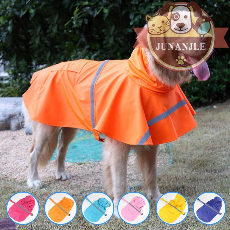 כלב מעיל גשם בגדי ברדור גולדן רטריבר גדול בינוני כלב עמיד למים שלג כלבים Pitbull שנאוצר חיות מחמד מעיל גשם