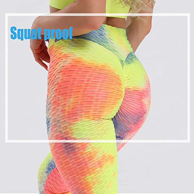 Scrunch Back Winter Fitness Leggings Hips Up Booty Workout Pants Womens Gym Activewear For Fitness High Waist Long Pant Warm 5