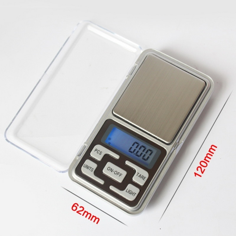 Backlight 0.1g Precision Portable Mini Electronic LCD Display Scale Pocket Digital Scale For Jewelry Kitchen Tools