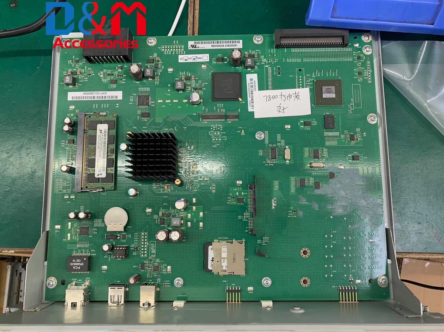 para xerox phaser 7800 placa de impressora mainboard logicboard