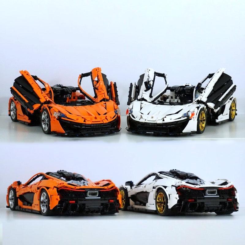 2019 NEW Technology MOC Series 20674 MCLAREN P1 HIPERCAR Racing Set Building Blocks Control RC Car DIY Model Toys Gifts