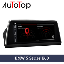 "AUTOTOP Qualcomm 10.25 ""BMW E60 Android Auto Radio Multimedia Player Für BMW 5 Series E60 E61CCC/CIC 2004 2009 Head Unit GPS Navi"