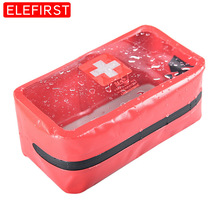 Outdoor Camp Portable First Aid Kit Waterproof Bag Emergency Kits Case Only For Home Car Travel Fishing Hiking Sports Treatment