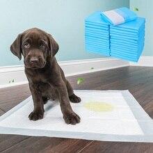 Пеленки для собак, Тренировочный Коврик для щенков, 4 размера, пеленки для питомцев, супер впитывающие пеленки для дрессировки собак, гигиенические чистые подушечки для собак, одноразовые