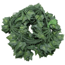 12 x artificial plants of vine false flowers ivy hanging garland for the wedding party Home Bar Garden Wall decoration Outdoor I