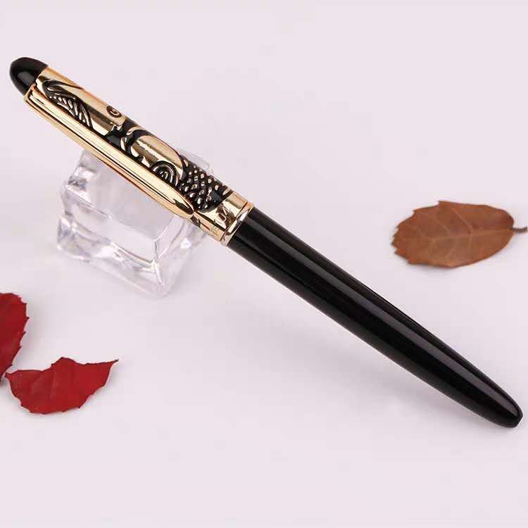 Old Stock Wing Sung 104 Fountain Pen Ink Pen F Nib Aerometric Filler Business Stationery Office School Supplies Writing Gift