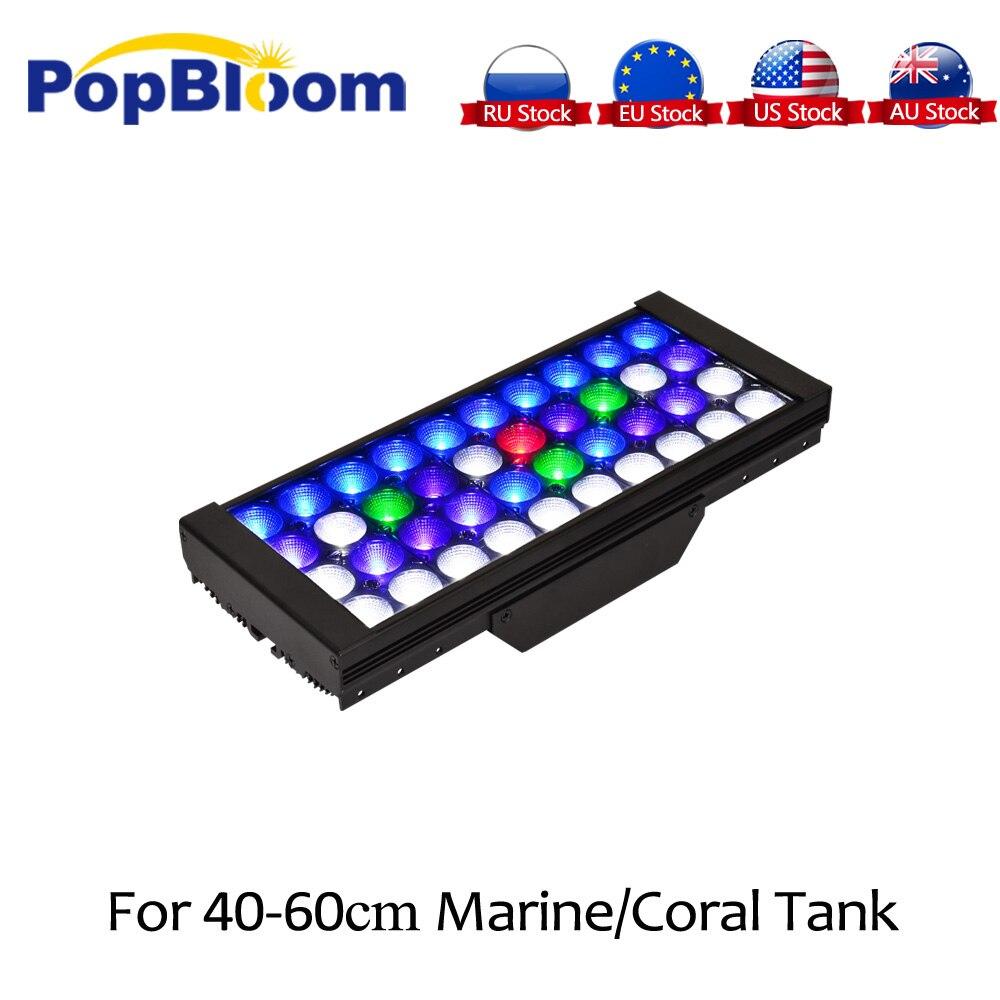PopBloom Led Aquarium Lamp Aquarium Verlichting Licht Voor Aquarium Marine Licht Voor Aquarium Led Licht Voor Vissen Turing30-in Verlichting van Huis & Tuin op  Groep 1