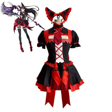 GATE Rory Mercury Fancy Dress Short Sleeve Tops Skirt Uniform Outfit Anime Cosplay