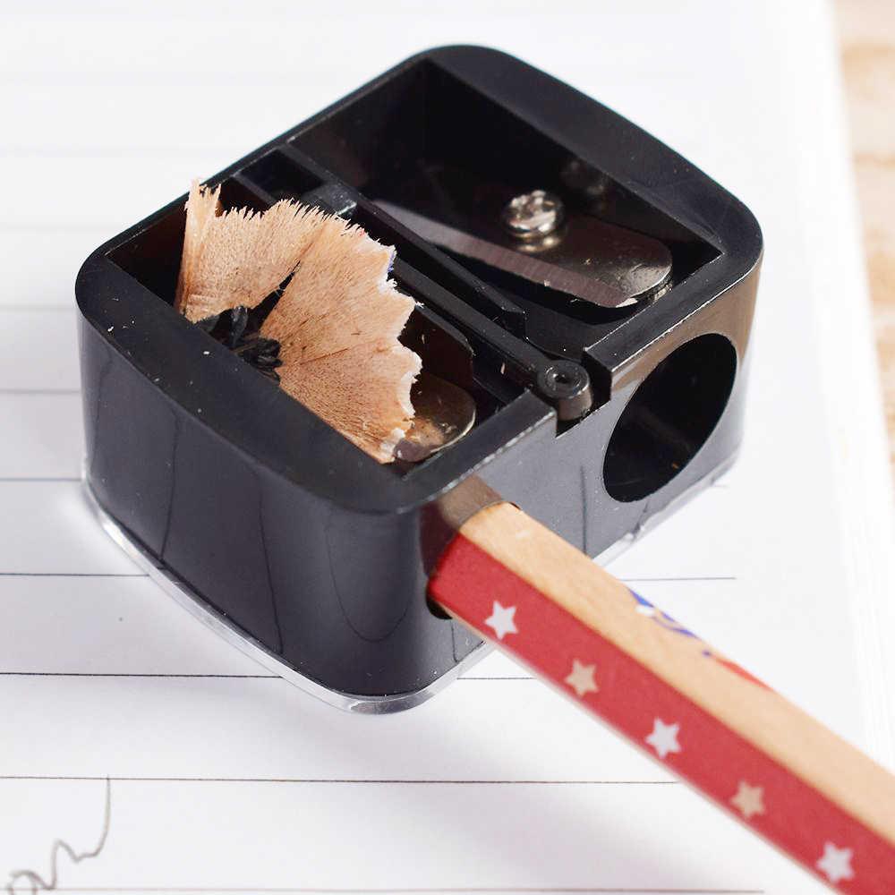 1 قطعة الموضة 2 ثقوب الدقة التجميل براية أقلام ل الحاجب الشفاه بطانة كحل قلم رصاص مدرسة مكتب التموين هدية Hot البيع
