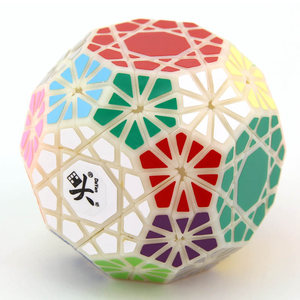 Image 4 - DaYan Gem VI Magic Cube Skewed/Skewbed Professional Speed Twist Puzzle Antistress Educational Toys For Children