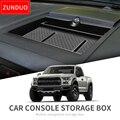 Ящик для хранения приборной панели автомобиля ZUNDUO для Ford F150, Raptor 2015 ~ 2019, органайзер для центральной консоли, держатель для телефона