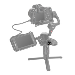 Image 5 - SmallRig Side Nato Mounting Plate with Integrate Rosette for Zhiyun Weebill LAB Gimbal Quick Release Nato Rail Plate    2273