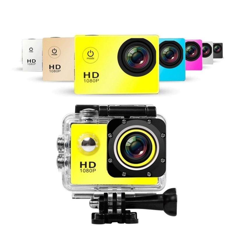 Video Recorder Mini HD 1080p 30FPS Mini Camera 4K 2.0 Screen Mini Helmet 30m Waterproof Sports DV Micro Camera Mini Camcorder