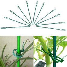 20PCS Reusable Plant Plastic Cable Ties Adjustable Vine Tomato Stem Clip for Greenhouse