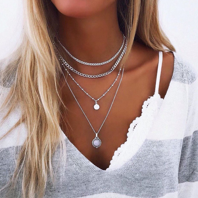 Jewelry Long Womans Chain Necklace