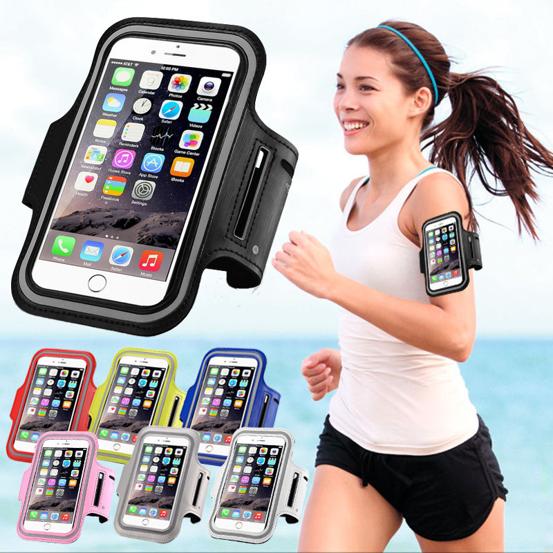 Universal Sport Running Armband For IPhone X 7 8 6s 6 Plus For Samsung S9 S8 For Xiaomi Arm Band Belt GYM Bag Phone Cases 6 Inch