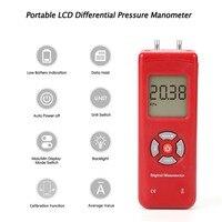 TL-100 medidores de pressão portáteis do medidor de pressão do ar do manômetro de digitas u-tipo medidor de pressão diferencial handheld