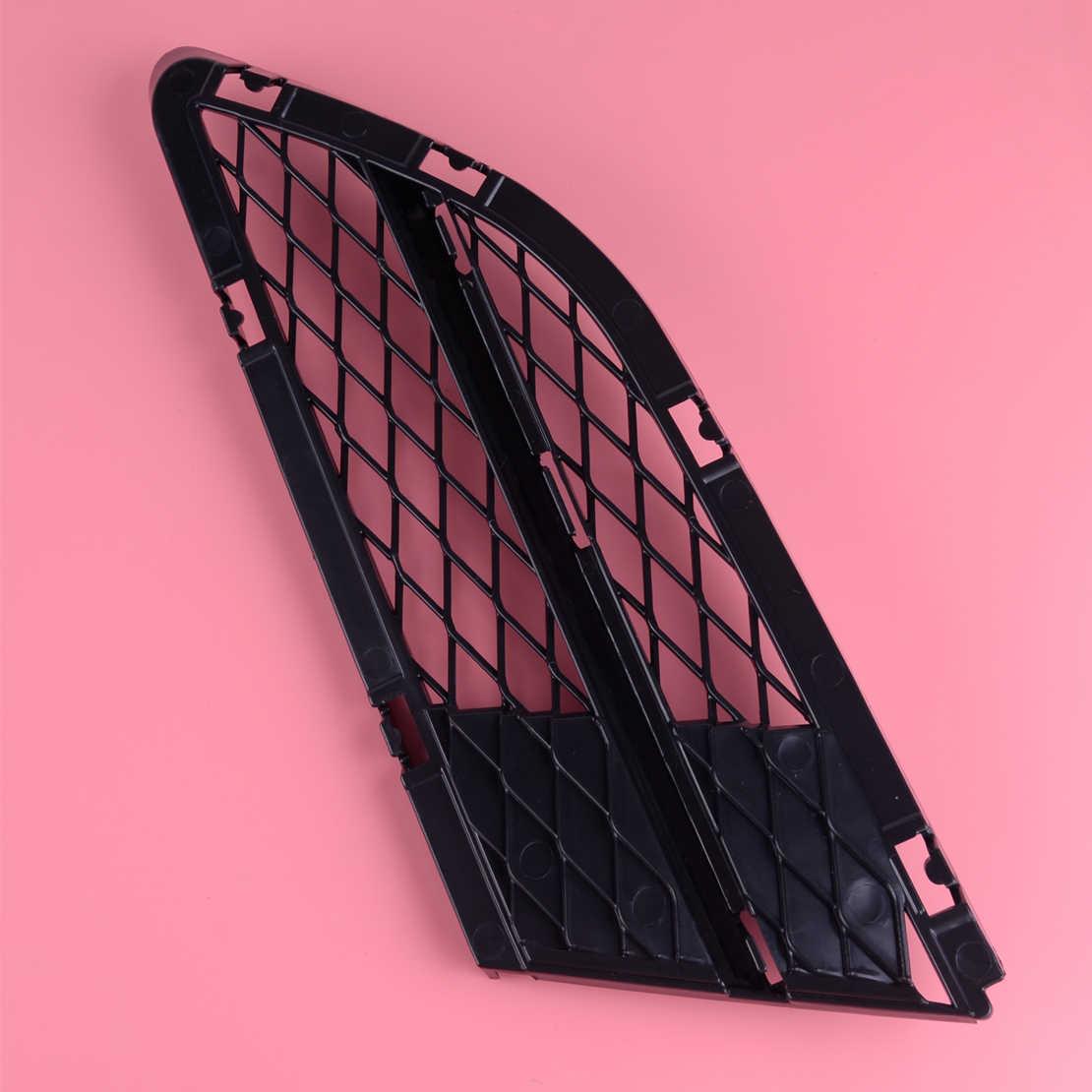 DWCX Пластиковый черный правый бампер накладка на Противотуманные фары сетка крышка сетка подходит для BMW 3 SER E90 LCI E91 325i 328i 335i 2009 2010 2011 2012