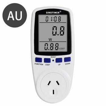 Ue usa UK Plug Socket cyfrowy watomierz miernik pobór mocy Watt licznik energii KWh AC 220V 110V analizatory energii elektrycznej monitory tanie i dobre opinie ACEHE NONE CN (pochodzenie) DDS108 0 0A-16 0A 0V-9999V 0 second ~ 9999 days 0Hz-9999Hz 0 5W~9999W 0 0~99 99 COST KWh 0 0~9999