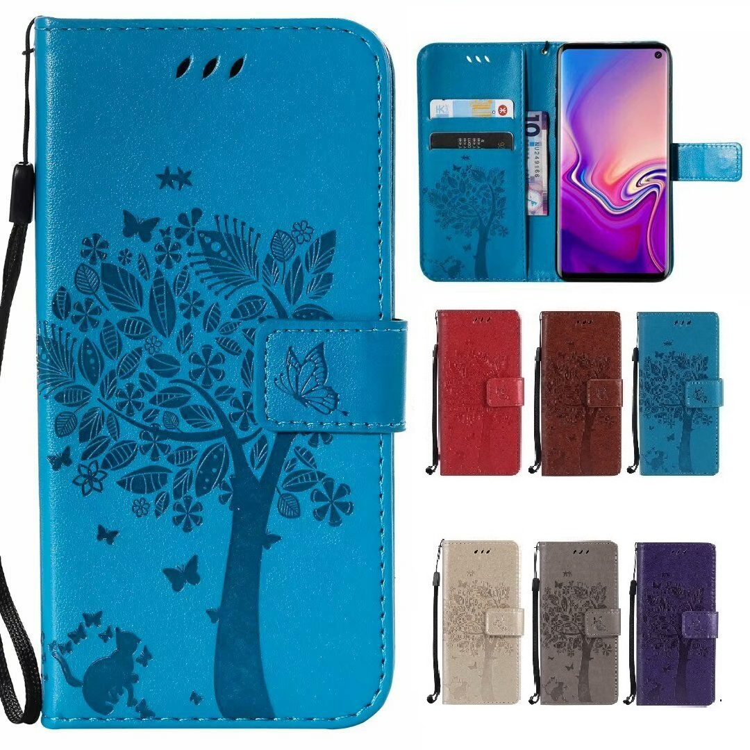 Fashion Luxury For Doogee N20 Y8 Y8C Case Flip Cover PU Leather Wallet Phone Case For Doogee Y9 Plus image