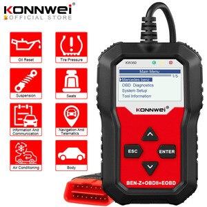 Image 1 - Diagnostica automatica dellanalizzatore Obd 2 dellautomobile di KONNWEI KW360 Obd2 per il ripristino dellolio dellairbag dellabs dello strumento diagnostico W212 dei sistemi completi di mercedes benz
