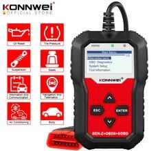 KONNWEI KW360 Obd2 Auto Scanner Obd 2 Auto Diagnose für Mercedes Benz Volle Systeme Diagnose Werkzeug W212 ABS Airbag öl Reset
