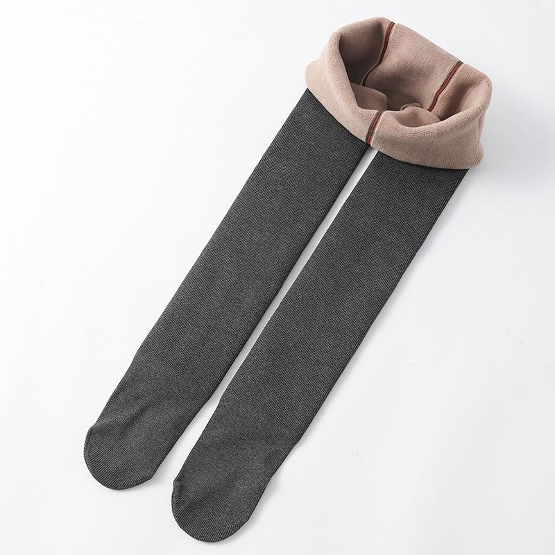 Winter Infant Girls Plus Velvet Pantyhose Children's Leggings Thickening Children's Babys Skinny Pants Winter Clothes 4