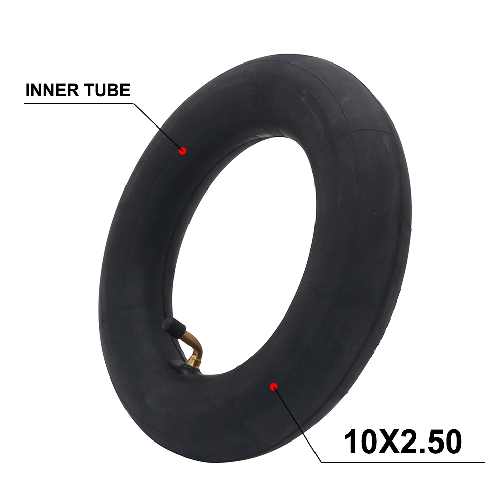<font><b>10*2.5</b></font> 10 Inch Pneumatic Inner Tube <font><b>Tires</b></font> Tyres For Gas Electric Scooter Tricycle Wheel 10X2.5 Pocket Bike Drive Bicycle image