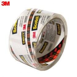 Cinta transparente 3M N2J material de oficina escuela cintas adhesivas sujetadores Scotch economía embalaje cinta adhesiva, transparente cristalino