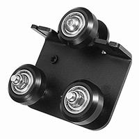 Cr-10 3D Printer Parts Extruder Back Support Plate with Pulley for Cr-10 Cr-10S Series 3D Printer