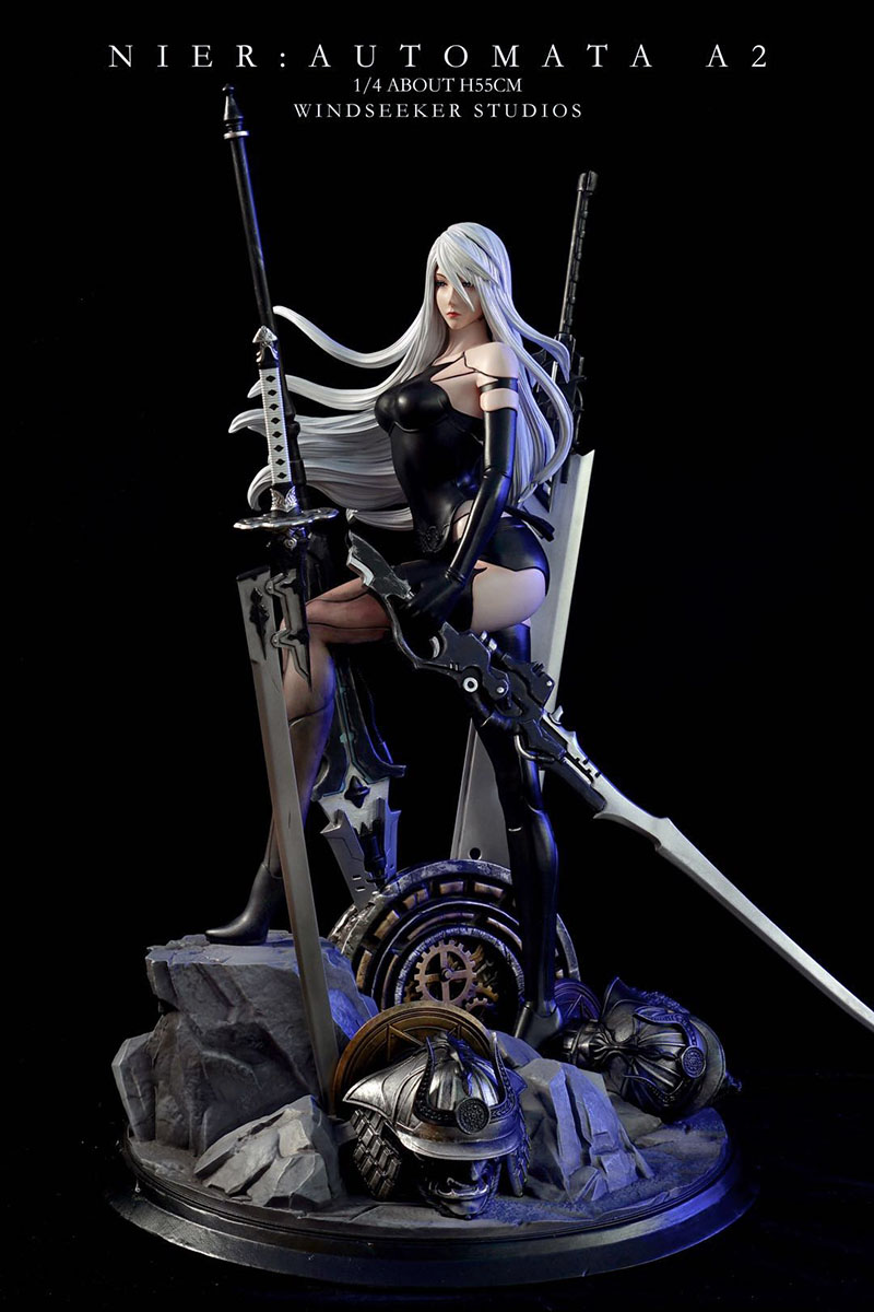GK 1:4 Neal Mechanical Age A2 Limited Statue Figure (Double Headed Carving) 1