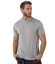 2020 masculino merino lã t camisa camada base lã t men 100% merino lã camisa 170 grama wicking respirável anti odor tamanho S XXLCamisetas