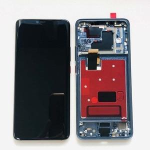 Image 2 - شاشة LCD تعمل باللمس مع الهيكل وبصمة الإصبع ، ضمان أصلي 100% لهاتف Huawei Mate 20 Pro mate 20 pro