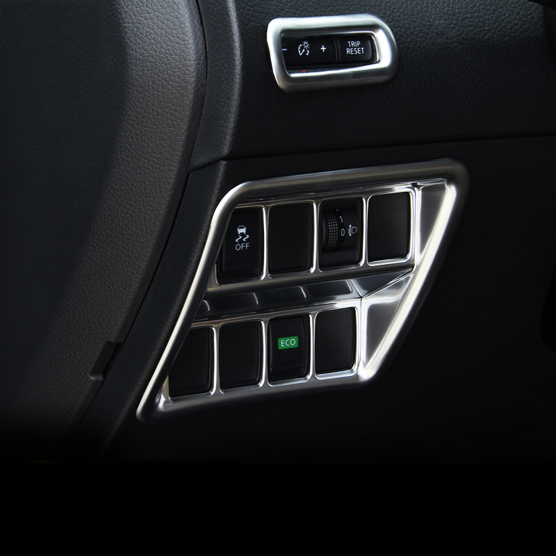For <font><b>Nissan</b></font> <font><b>Qashqai</b></font> J11 2014 2015 2016 <font><b>2017</b></font> 2018 2019 Car Headlight Adjustment Button Switch Knob Cover Trim Interior <font><b>Accessories</b></font> image