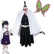 Костюм для косплея из аниме «рассекающий демонов», косплей-костюм из м/ф «no Yaiba Tsuyuri Kanawo», реквизит на Хэллоуин