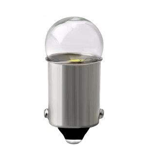 Image 2 - 10pcs BA9S LED Bulb 3030 Glass T4W High Bright White 12V Reading Dome Door Instrument Light License Plate Lights Lamp Bulb